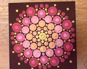 Mandala  Art - Original Painting - ID#889