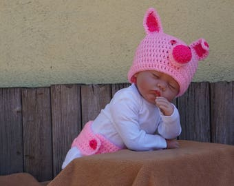 crochet baby pig.