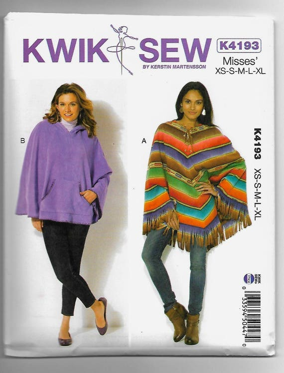 Famous Poncho Sewing Pattern Images - Knitting Pattern Ideas ...