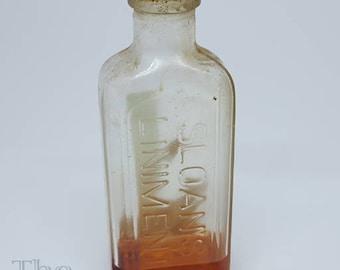 Vintage Sloan's Liniment Bottle