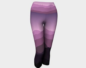 Purple Mountains Yoga Capris
