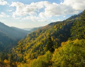 Smoky Mountain Art - Digital Download - Mountain Photo - Mountain Photography - Cabin Decor - Cabin Decoration - Stock Photo - Rustic Decor
