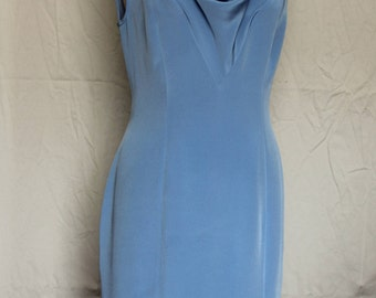 Mother of the Bride Blue Dress