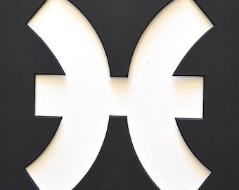 "Zodiac Signs as 8""x10"" Custom Picture Mat"