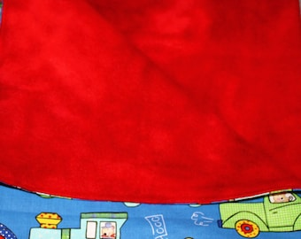 Security Blanket 19 X 24 Cotton and Fleece