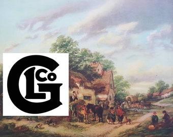 "GP1114 ""Country life"" by G.Lara"