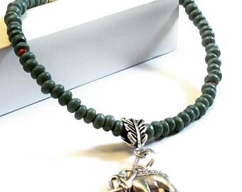 Bohemian elephant Charm Bracelet