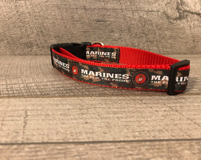 "The Marine | 1"" Dog Collar 