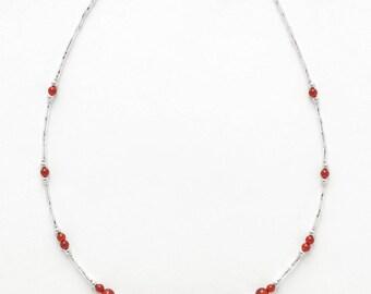 Necklace Cornelian