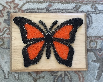 Made to Order Butterfly String Art