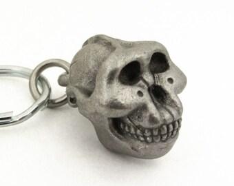 Paranthropus Boisei Keychain - Science Gift, Australopithecus, Paleoanthropology, Hominin Keychain
