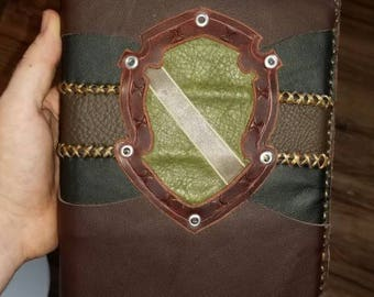 Handmade Leather Bookcover Harry Potter and the Half Blood Prince
