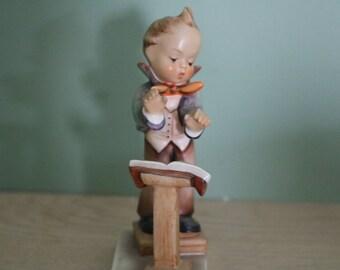 SALE Early TMK 3 Hummel Figurine Band Leader 129