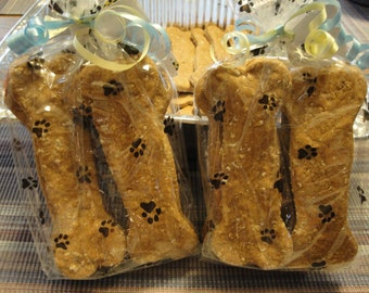 Large Peamutt Butter Bones-Home Baked All Natural Gourmutt Treats