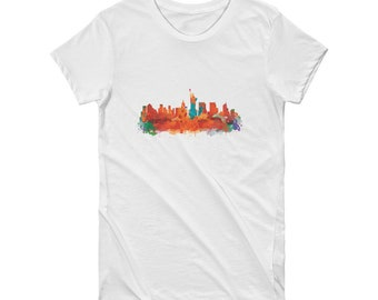 New York Short Sleeve Women's T-shirt