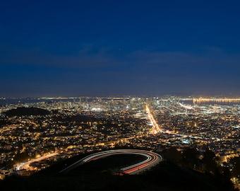 San Francisco at Night PRINT