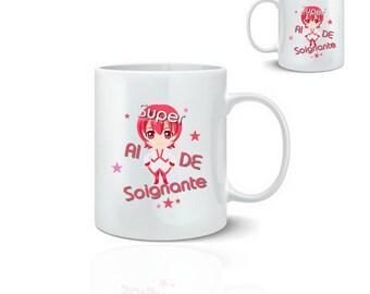 Super aide - ceramic mug mug 325 ml
