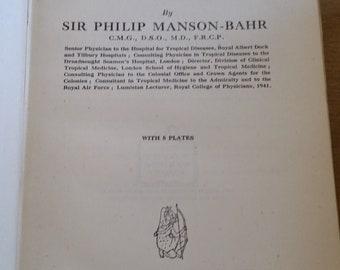 1943 - Synopsis of Tropical Medicine -Vintage Hardback Medical Book - Plague, Leprosy, Etc