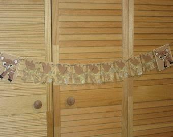Baby Dear Banner, Baby Shower Banner, Garland, Baby Deer Shower banner, Baby Shower Banner, Garland, Nursery Banner,  Baby Doe Baby Shower