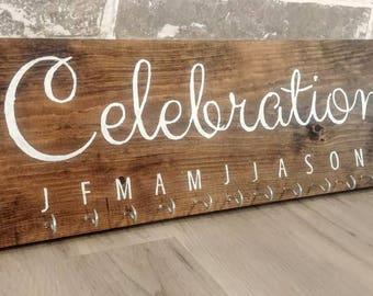 Birthday Celebration chart sign reminder