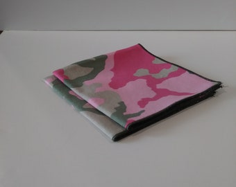 Cloth Napkins Pink Cammo Set of 2