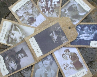 Vintage-Style Hand Made Gift Tags (6)