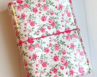 Traveler's Notebook - Pink Floral