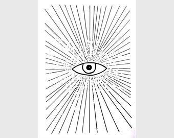 The Eye - Screenprint