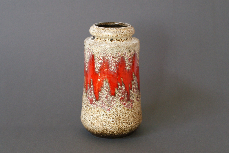 West german pottery vase scheurich 549 21 lora vase zoom reviewsmspy