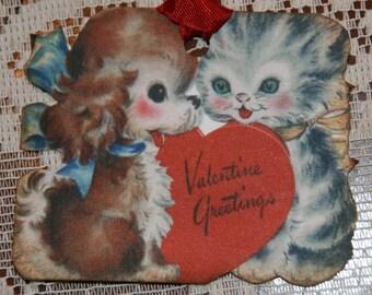Valentine Kittens Tags