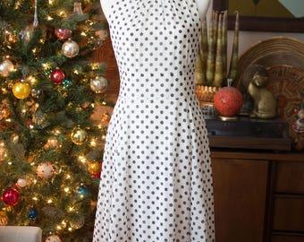 80's Polka Dot Pretty Woman Dress