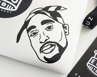 2pac Sticker Etsy