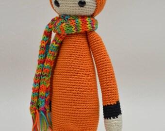 Amigurumi Fuchs, Fox, handmade toys, cuddly animals, crochet animals, toys,