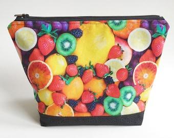 Frisch Obst Zip-Beutel, den Regenbogen zu essen!