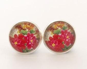 Floral Post Earrings, Floral Earrings, Floral Posts, Floral Studs, Flower Earrings, Floral, Flower Stud Earrings, Flower Post Earrings, Gift