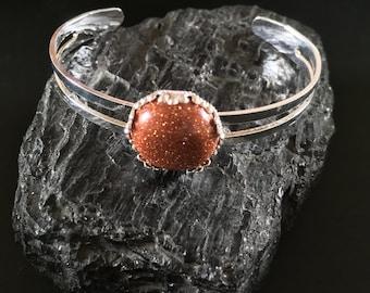 Bracelet Sunstone (child or small wrist)