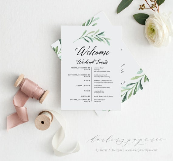 Itinerary Template Wedding Itinerary Wedding Timeline