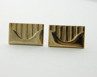Golden Ticket Cuff Links - CL009