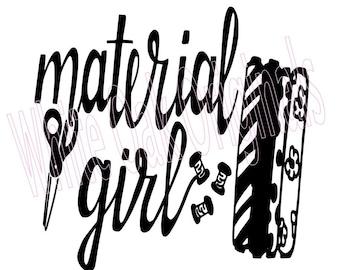 Material Girl svg