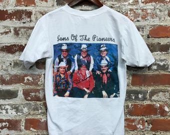 Sons of the Pioneers Vintage T Shirt