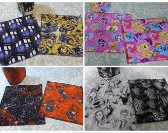 Custom Unpaper Towels, reusable paper towels (set of 8)