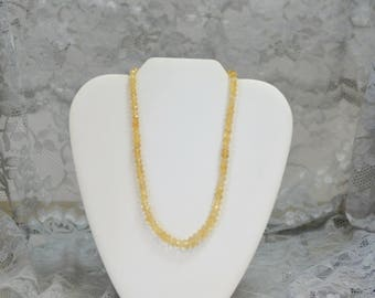 Lovely Faceted Citrine Necklace