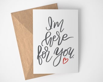 Suppportive Cards, Get Well Cards, Thinking of You Cards, Healing Vibes, I'm Here for You, Blank Get Well Cards, Thoughtful Get Well Card