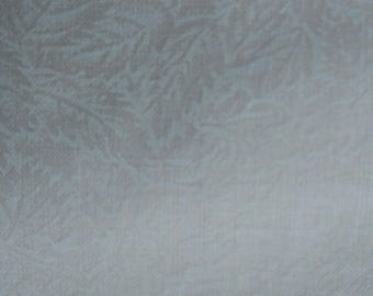 Vintage Ecru Cream Leaf Print Fabric Perfect for your quilting project Lot 2, 3 Yards 44 in Width Quilting Cotton Lot 1