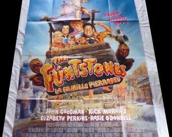 1994 The Flintstones movie poster original 120X160cm very good condition/vgc