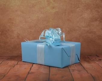 Classic Collection Gift Wrap Kit - Aqua