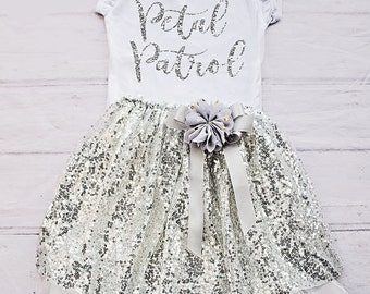 Petal Patrol Shirt, Flower Girl Shirt / Rehearsal Clothing / Bridal Crew / Rehearsal Dinner / Flower Girl Gift