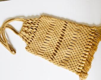 macrame bag, natural woven bag, Macrame bag, natural woven bag, natural jute fabric, jute macrame, vintage boho,hippie vintage bag, handbag,