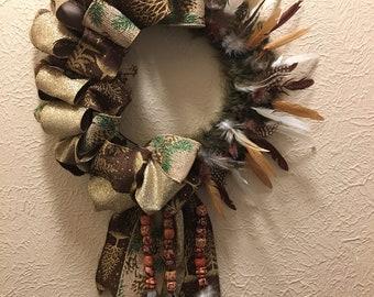 Christmas Indian Wreath