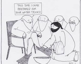 Water Tricks CARTOON